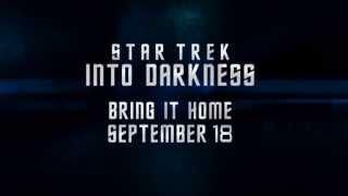 STAR TREK INTO DARKNESS - Home Entertainment Trailer - Australia