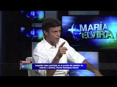 María Elvira entrevista a Leopoldo López - Completo