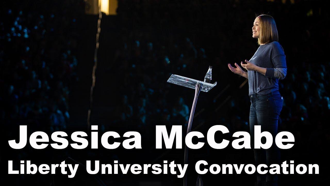 Jessica McCabe - Liberty University Convocation