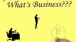 What is a Business? Definition and meaning...