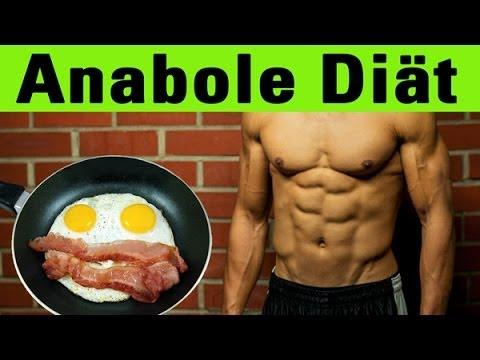 Anabole Diät (Ketogene Diät) - Fett verlieren und Muskeln erhalten