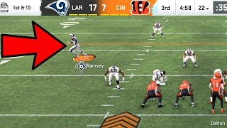 Jalen Ramsey RAMS EDITION Shutdown ACTIVATED! Madden 20 Online Gameplay