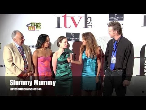 "Jennifer Weedon-Red Carpet Interview for ""Slummy Mummy"" at ITVFest"