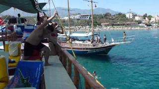 Kyrenia Harbor boat trip North Cyprus 2011