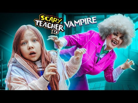 Scary 3D Teacher Became A Vampire ! Parents 'meeting Has Become A Dad's Nightmare!