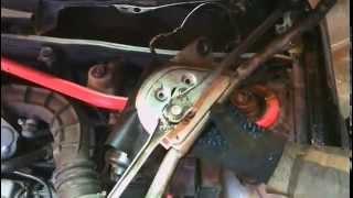 Лада Гранта замена мотора стеклоочистителя на ...