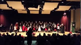 WILLAMETTE GIRL CHOIR 2014 CONCERT SANTA CLAUS IS COMING