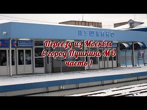 Переезд в город Пушкино. Часть 1