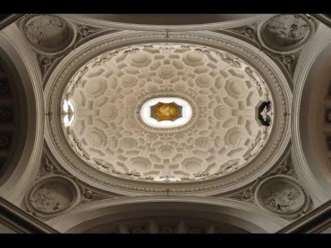 Roma San Carlo Alle Quattro Fontane Borromini Interno