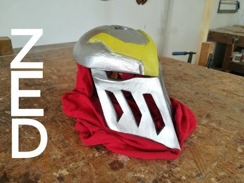 Crafting Zedʻs Helmet From League Of Legends
