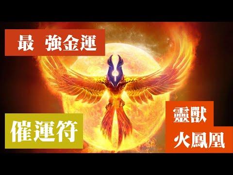 最強金運音樂 最高運氣的火鳳凰意識穿越 金錢靈獸魔法召喚