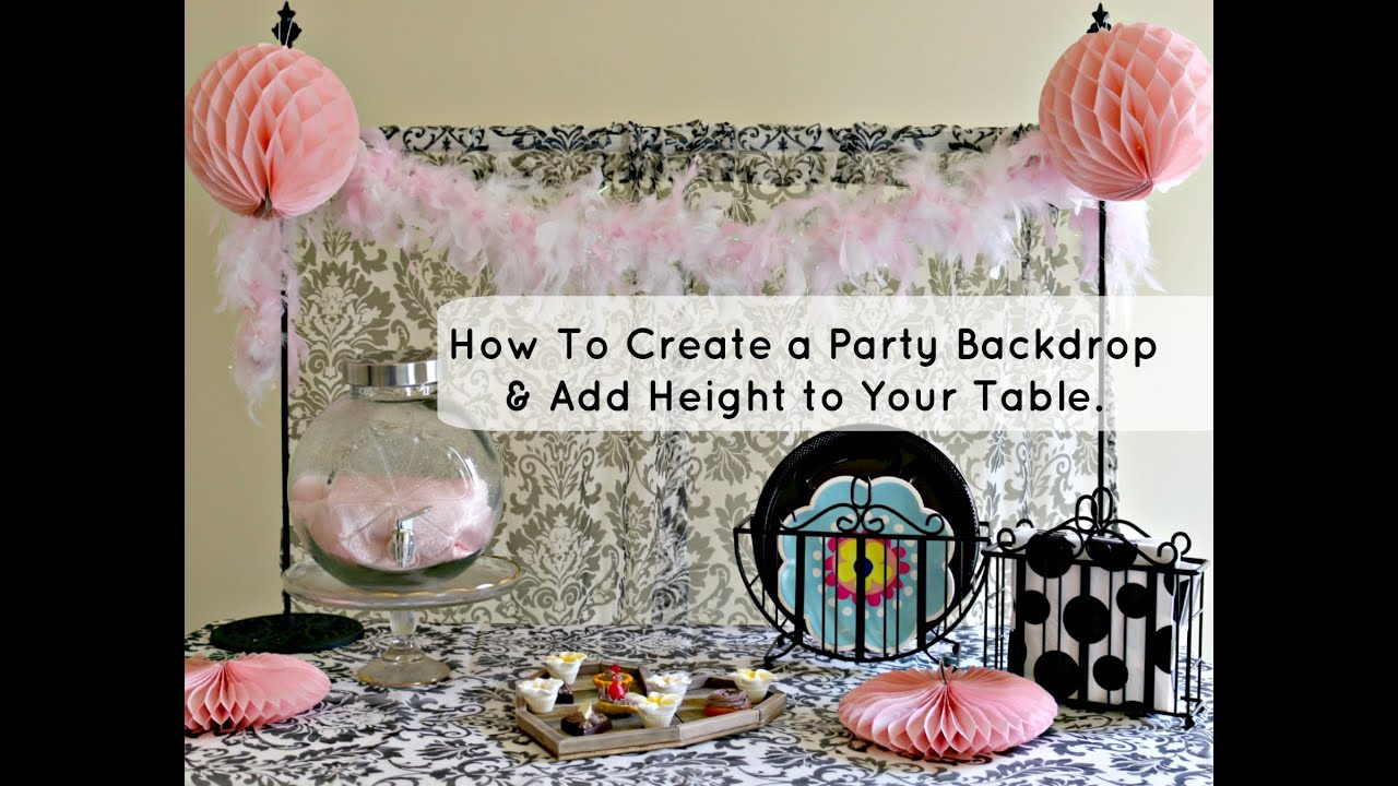 How To Add Height To Your Event Table