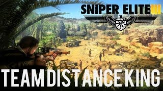 Sniper Elite 3 - Team Distance King Multiplayer Gameplay (PS4/Xbox One) (HD)