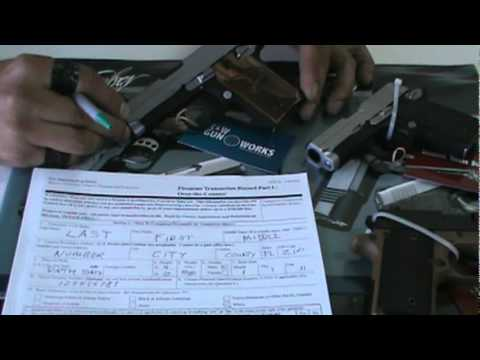 Firearms Background Check Form Basics - Youtube