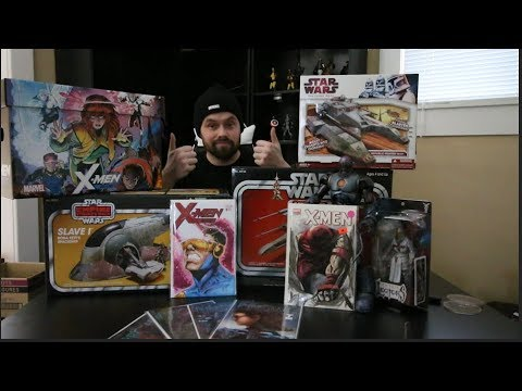 toy-hunting-on-free-comic-book-day!-new-marvel-legends,-star-wars-vintage-collection-and-more!!