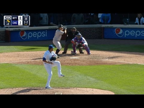 NYY@CHC: Gardner goes deep to give Yankees the lead