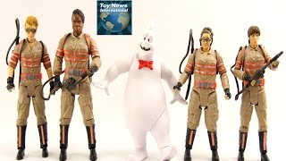 """Mattel 2016 Ghostbusters 6"""" Movie Figures Review"""