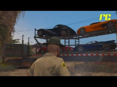 GTA 5 Roleplay | Roll Call - Drunk Car Hauler (Law Enforcement)