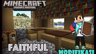 Texture Faithful Modifikasi Tampilan Seperti PC - Minecraft Pocket Edition