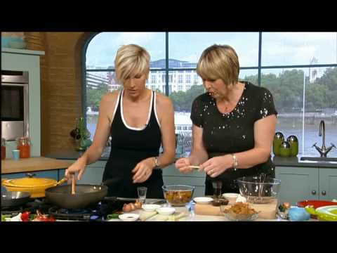Heather Mills Cooks for This Morning