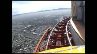 High Roller Roller Coaster POV Stratosphere Tower Las Vegas Closed