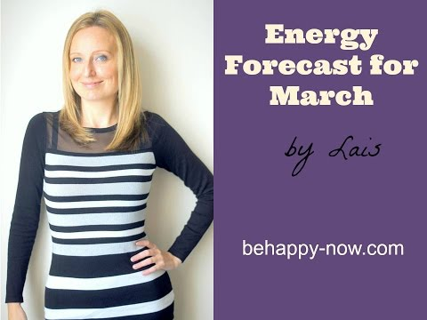 Energy Forecast for March 2017
