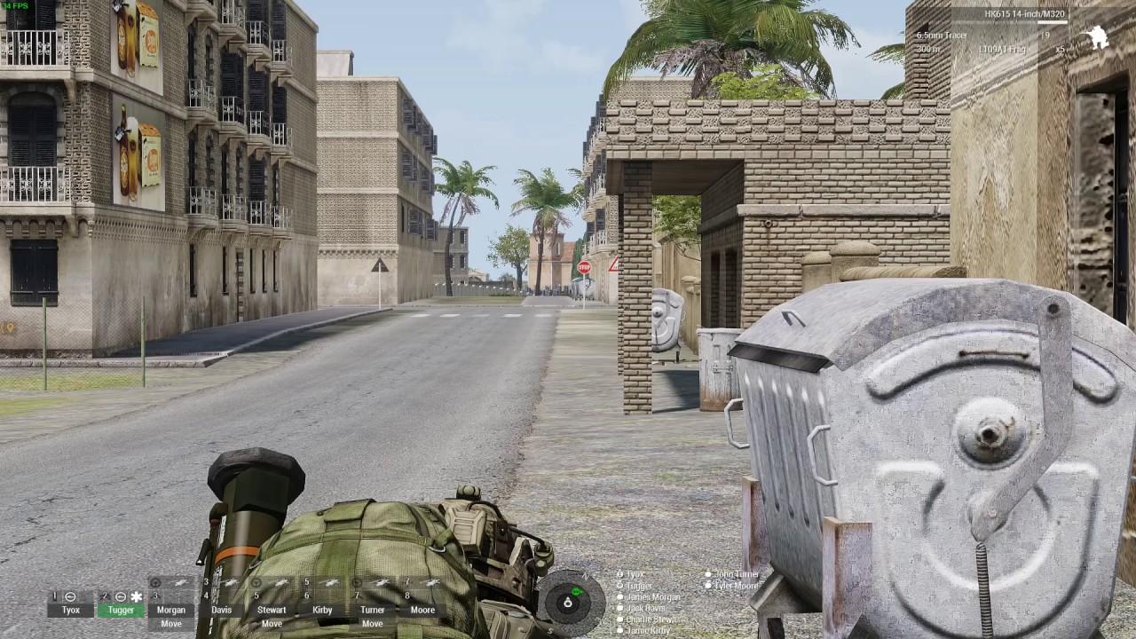 Arma 3 Assassination Mission On Sahrani