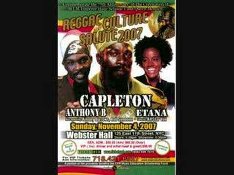 Anthony B Interview For Reggae Culture Salute 2007