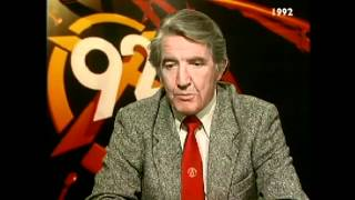 BBC General Election results 1992 a fiery Dennis Skinner on PR, Europe and