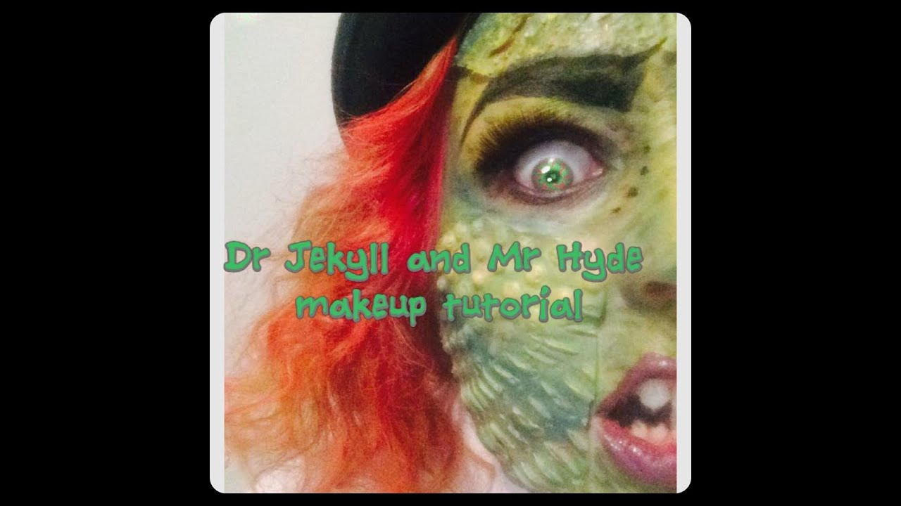Dr Jekyll and Mr Hyde makeup tutorial - YouTube