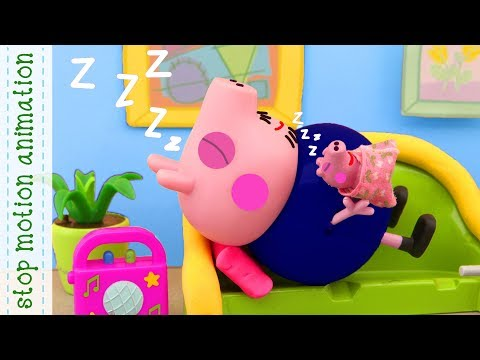 Baby Alexander. Peppa pig toys stop motion animation english episodes 2018