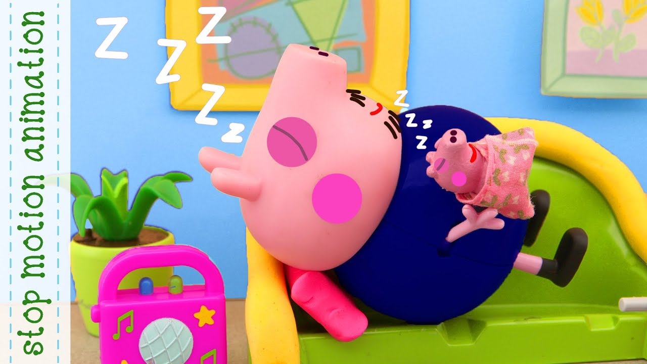 Baby Alexander Peppa Pig Toys Stop Motion Animation