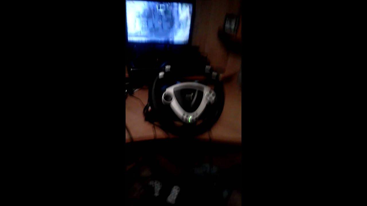 Как подключить руль и пидали к игре driver san francisko youtube.