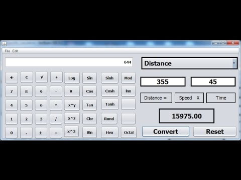 How to Create Scientific Calculator in Java NetBeans