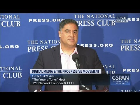 Cenk Uygur of the The Young Turks on Digital Media and the Progressive Movement, Oct 26 2018