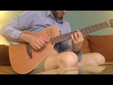 The Wave short solo guitar arrangement