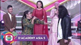 MIRIP BANGET!! Gilang dan Soimah Jadi Mas Anang dan Syahrini Kw - D'Academy Asia 5