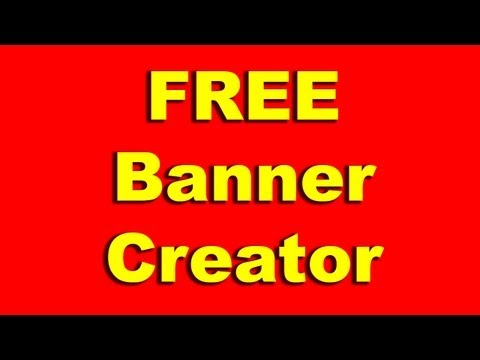 How to Create a Free Ad Banner | Banner Generator