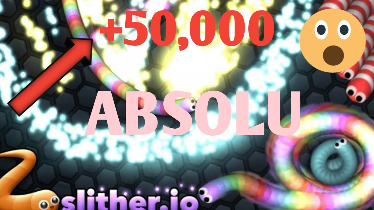 Slither.io | +50,000 Score | WORLD RECORDS