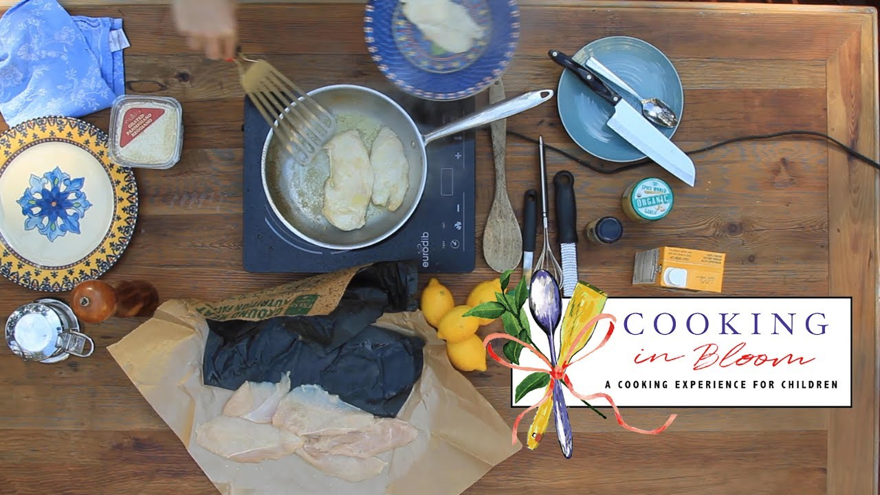 Cooking in Bloom at Six Bridges Literary Festival