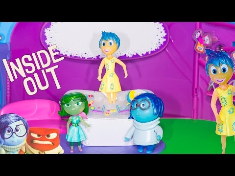 INSIDE OUT Disney Pixar Inside Out Console with  Joy + Sadness + Disgust Inside Out Video Toy Review