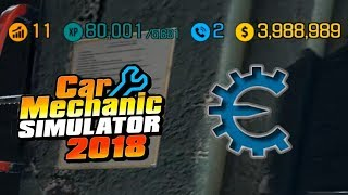 HACK Car Mechanic Simulator 2018 Get Millions Get XP 4k