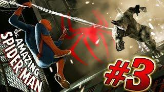 НОВЫЙ ЧЕЛОВЕК ПАУК Amazing Spider Man #3 Прохождение ИГРЫ. Игра как мультик про человека-паука