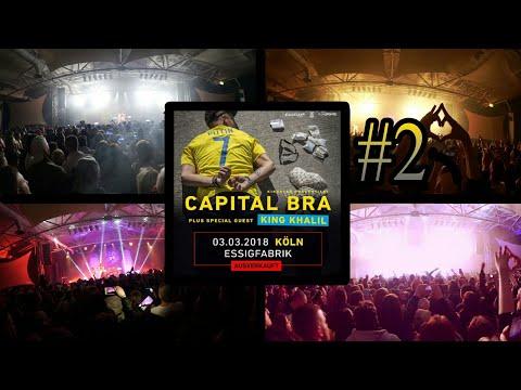 CAPITAL BRA - BLYAT TOUR - KONZERT in KÖLN (03.03.2018) #2