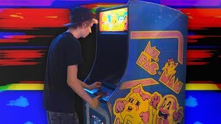 I got the high score on Pac-Man at the arcade!