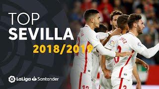 TOP Goles Sevilla FC LaLiga Santander 2018/2019