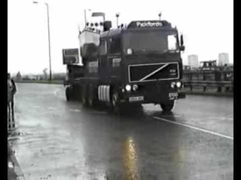 Turbinia moves home 30 years ago