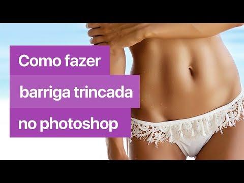 como eliminar barriga en photoshop