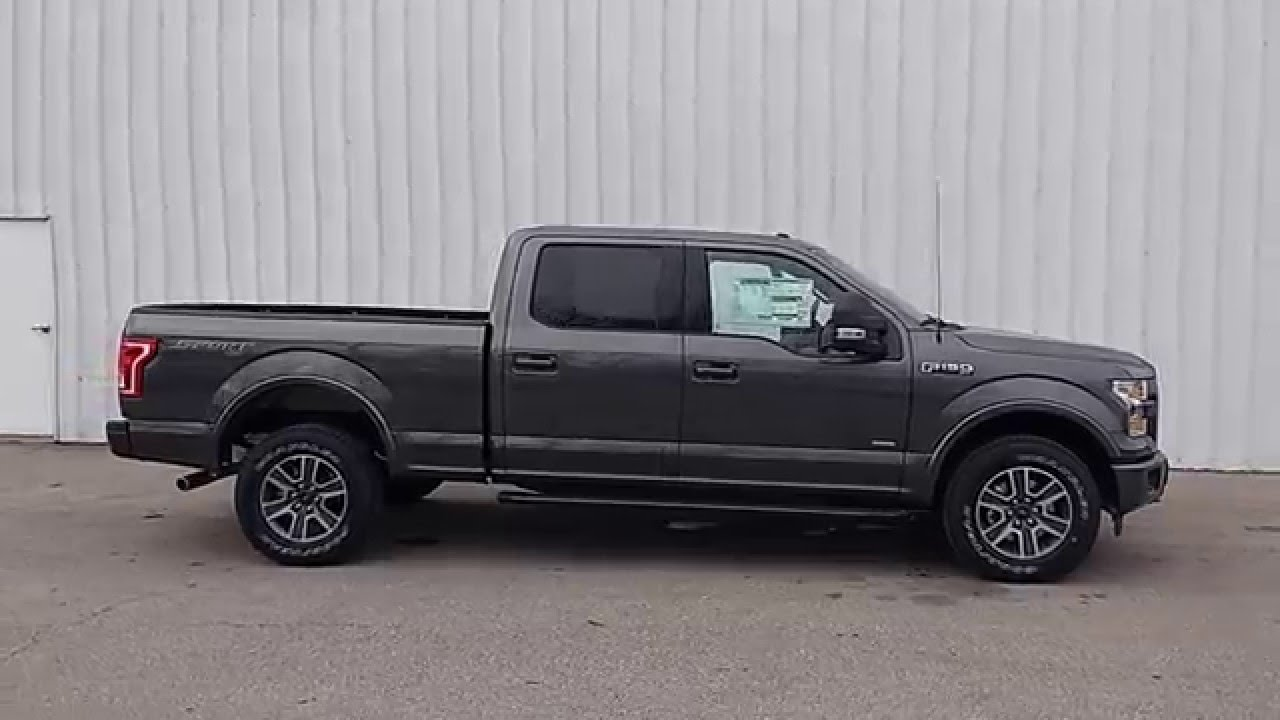 magnetic 2016 f 150 supercrew 4x4 xlt sport 3 5l ecoboost 302a max tow 6 5 39 youtube. Black Bedroom Furniture Sets. Home Design Ideas
