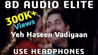 8D AUDIO | Yeh Haseen Vadiyaan - Roja | A.R Rahman | S. P. Balasubramanyam & Chitra